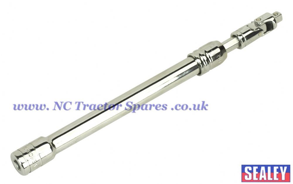"Adjustable Extension Bar with Swivel Head 230-355mm 1/4""Sq Drive"